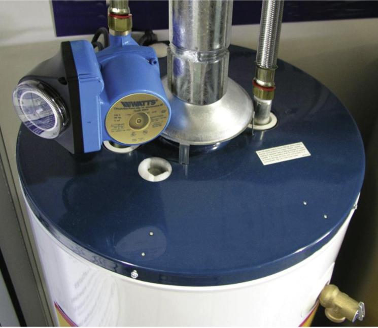 A recirculation pump