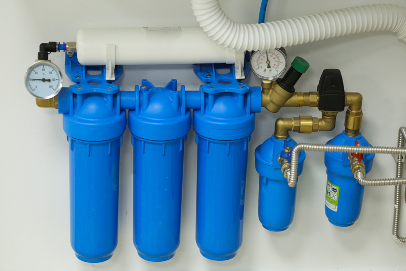 A water filtration system
