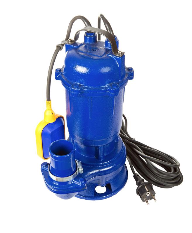 A sewage ejector pump