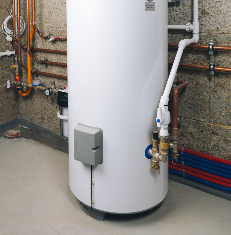 A hot water heater