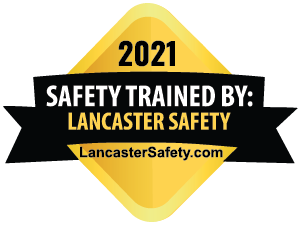 2020 Safety Trained By: Lancaster Safety