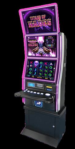 amtote parimax atlas triple gaming cabinet titans of hades
