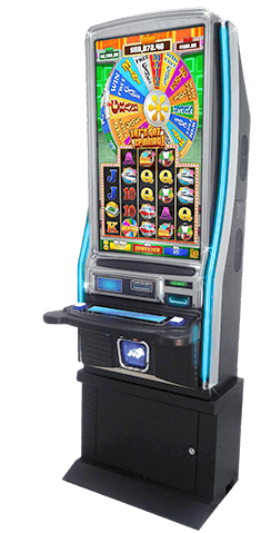 amtote parimax atlas 43 gaming cabinet spin to win