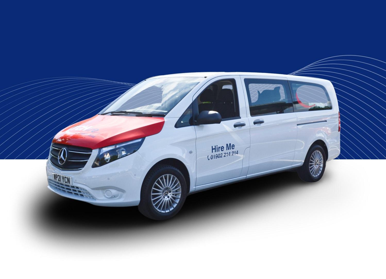 9 Seater Minibus Auto (Mercedes Vito or Similar)