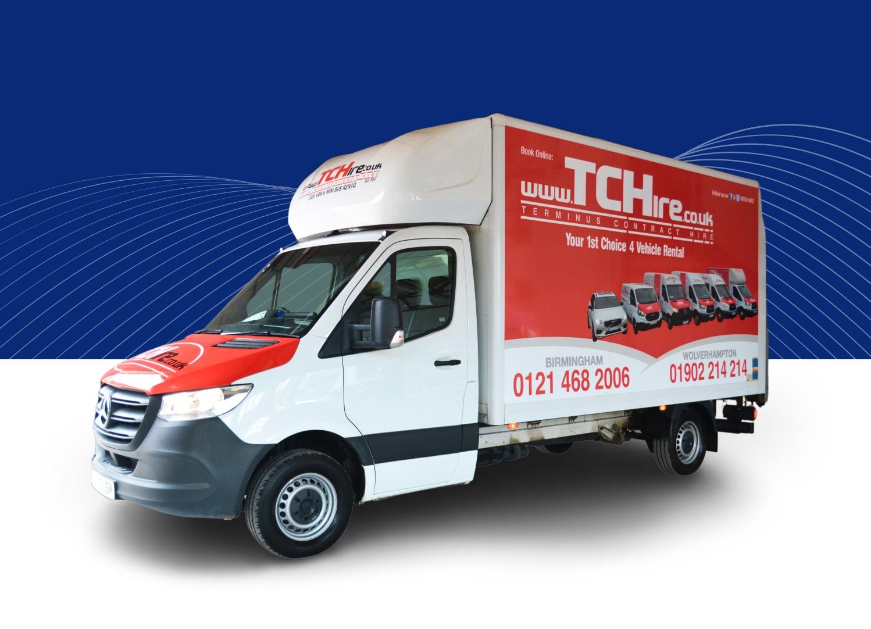 Luton Box Van With Tail Lift