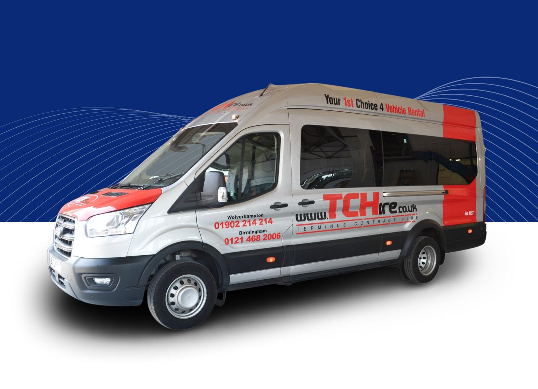 17 Seater Minibus (Ford Transit or Similar)