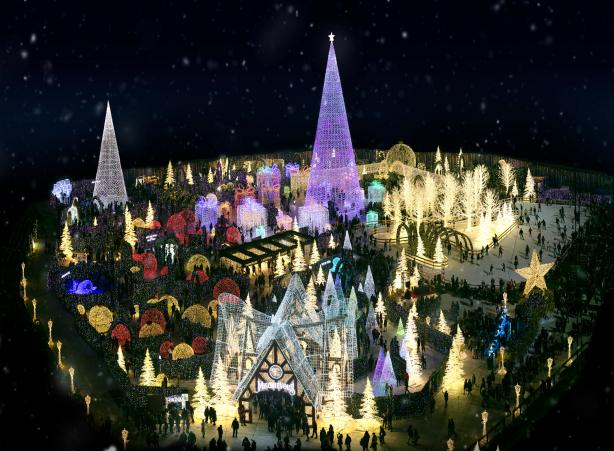 Enchant light maze top view