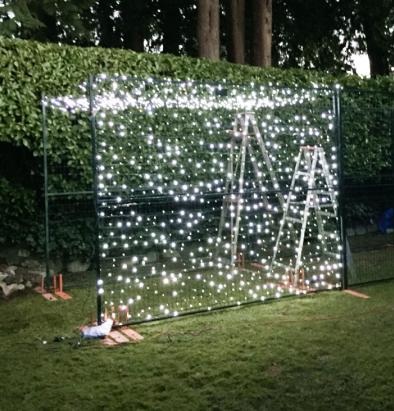 Backyard lights 101