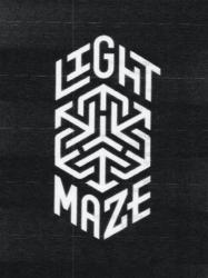 Light maze logo