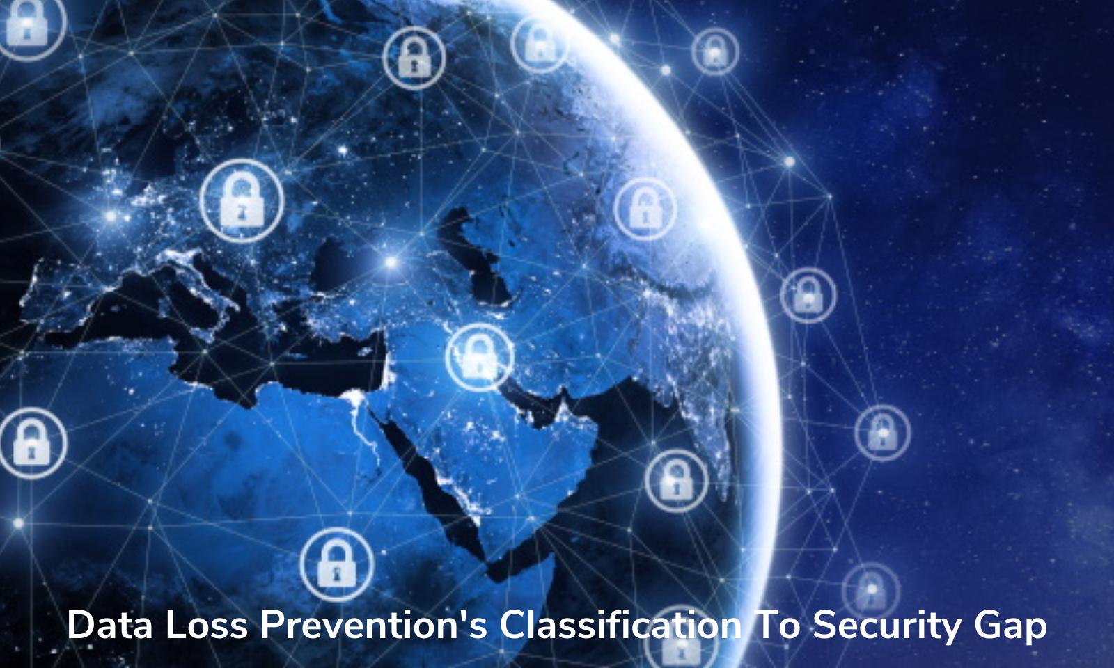 Classificação da Prevenção contra perda de dados para lacuna de segurança