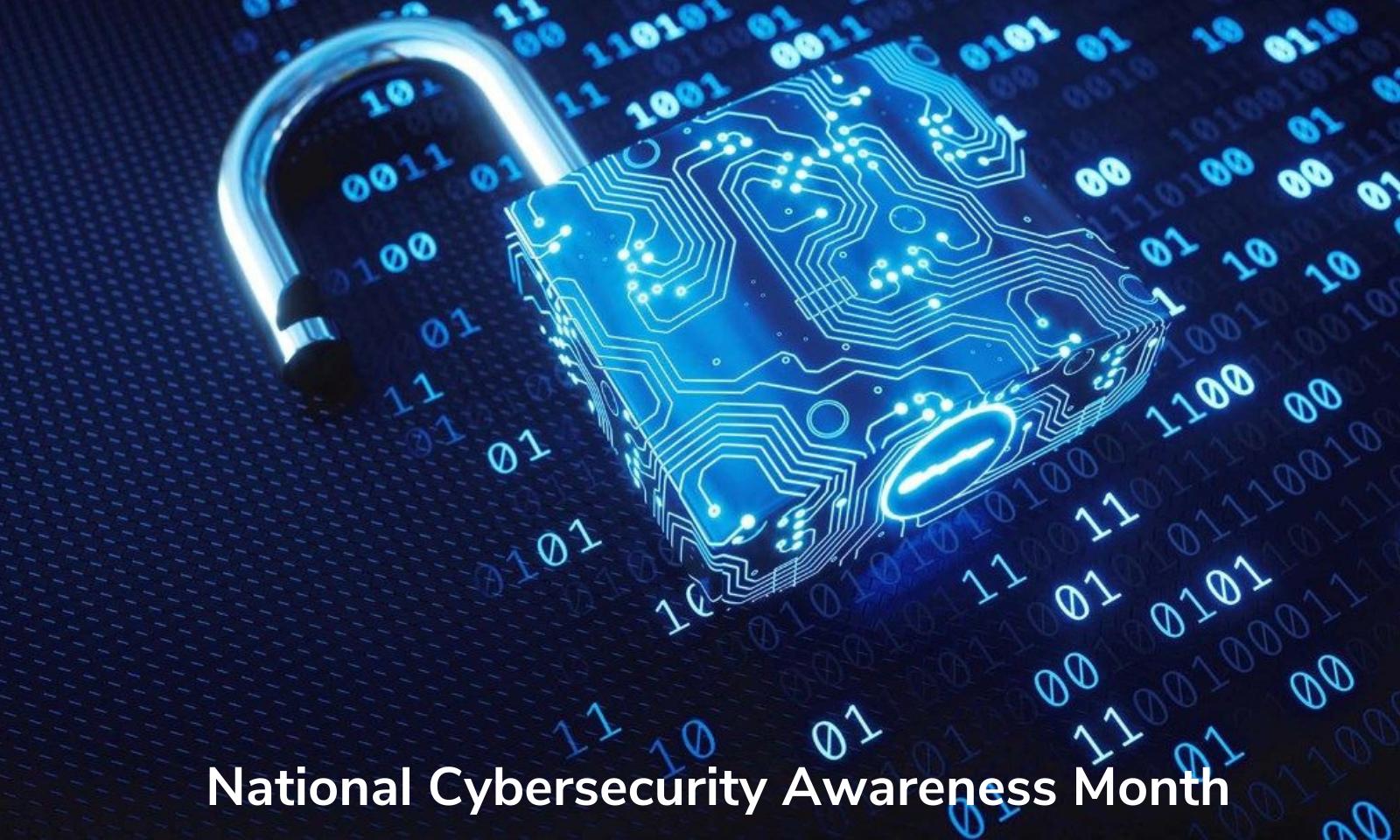 Mês Nacional de Conscientização sobre Segurança Cibernética