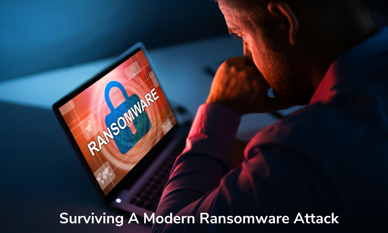 Sobrevivendo a um ataque de ransomware moderno