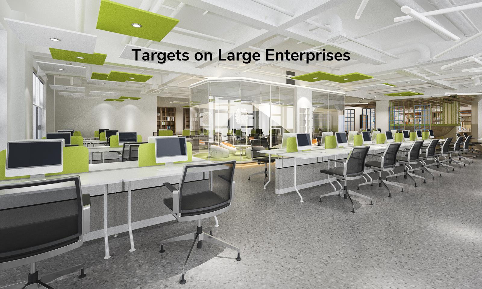 Targets on Large Enterprises
