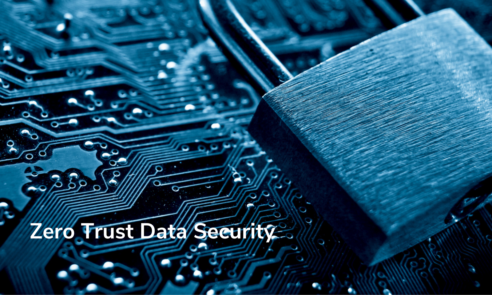 Zero Trust Data Security