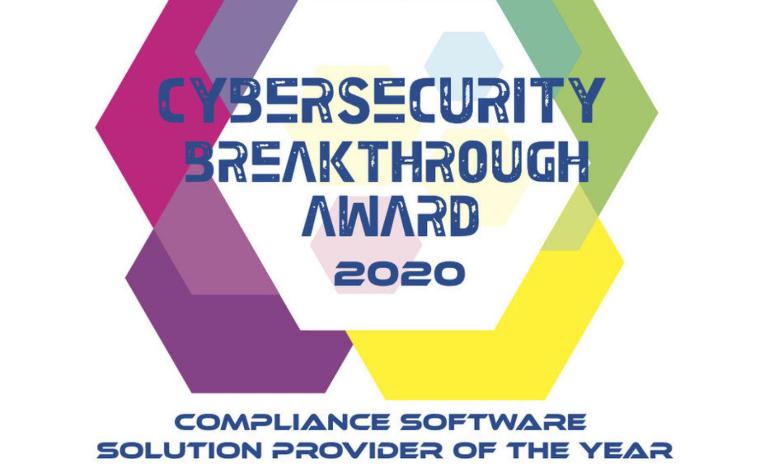 Cybersecurity Breakthrough Awards 2020