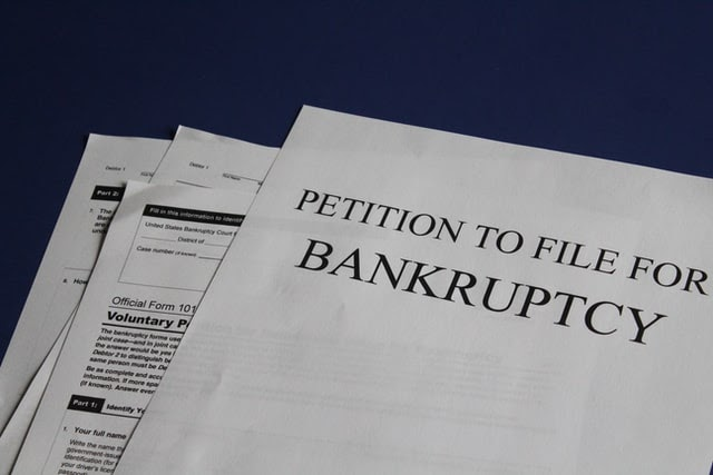 petition to file chapter 7 bankruptcy paperwork