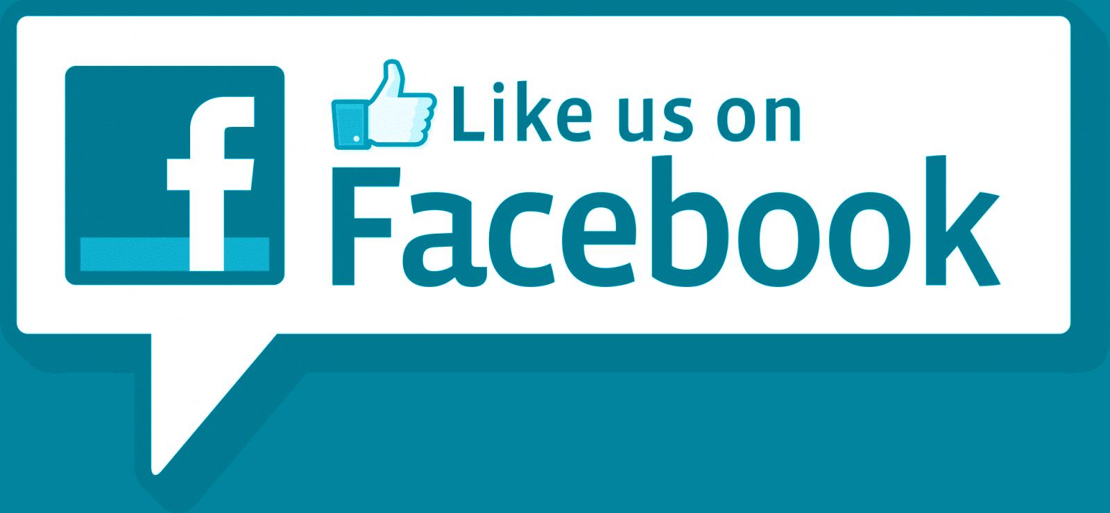 like us on facebook talk bubble
