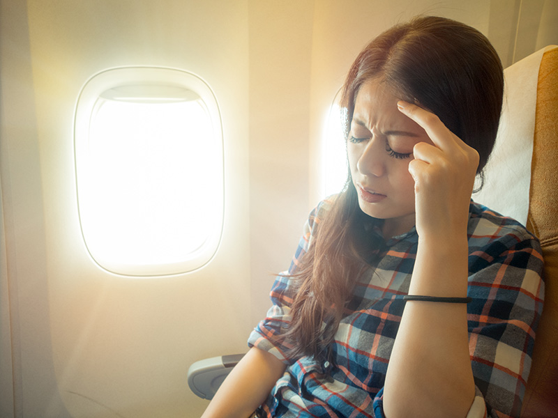 How to Stop Sinus Pain While Flying