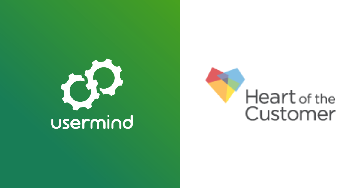 Heart of the Customer and Usermind Partner to Accelerate CX Innovation for Enterprises