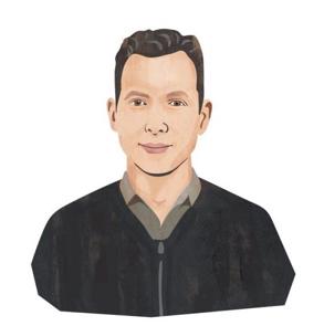 Portrait illustration of Beau Bernstein