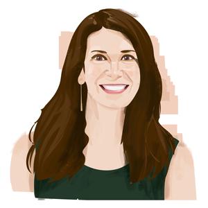 Portrait illustration of Amanda Alix