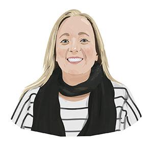 Portrait illustration of Erin Haworth