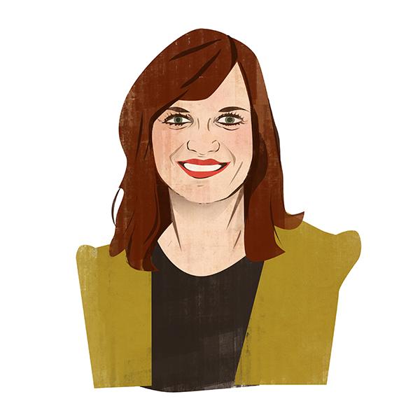 Portrait illustration of Kaitlyn Kurosky