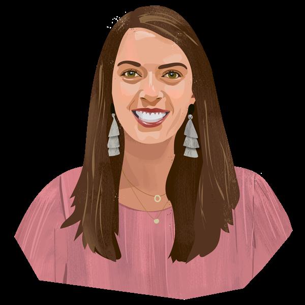 Portrait illustration of Kayla Ibe