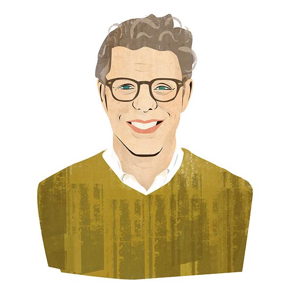 Portrait illustration of Evan Strome