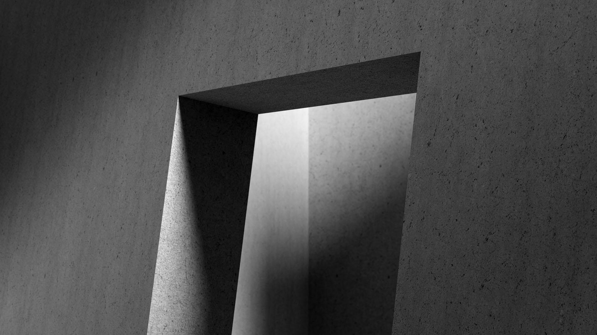 Background image of a doorway.