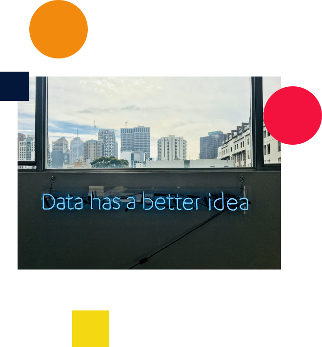 "Image with the text ""data has a better idea"""