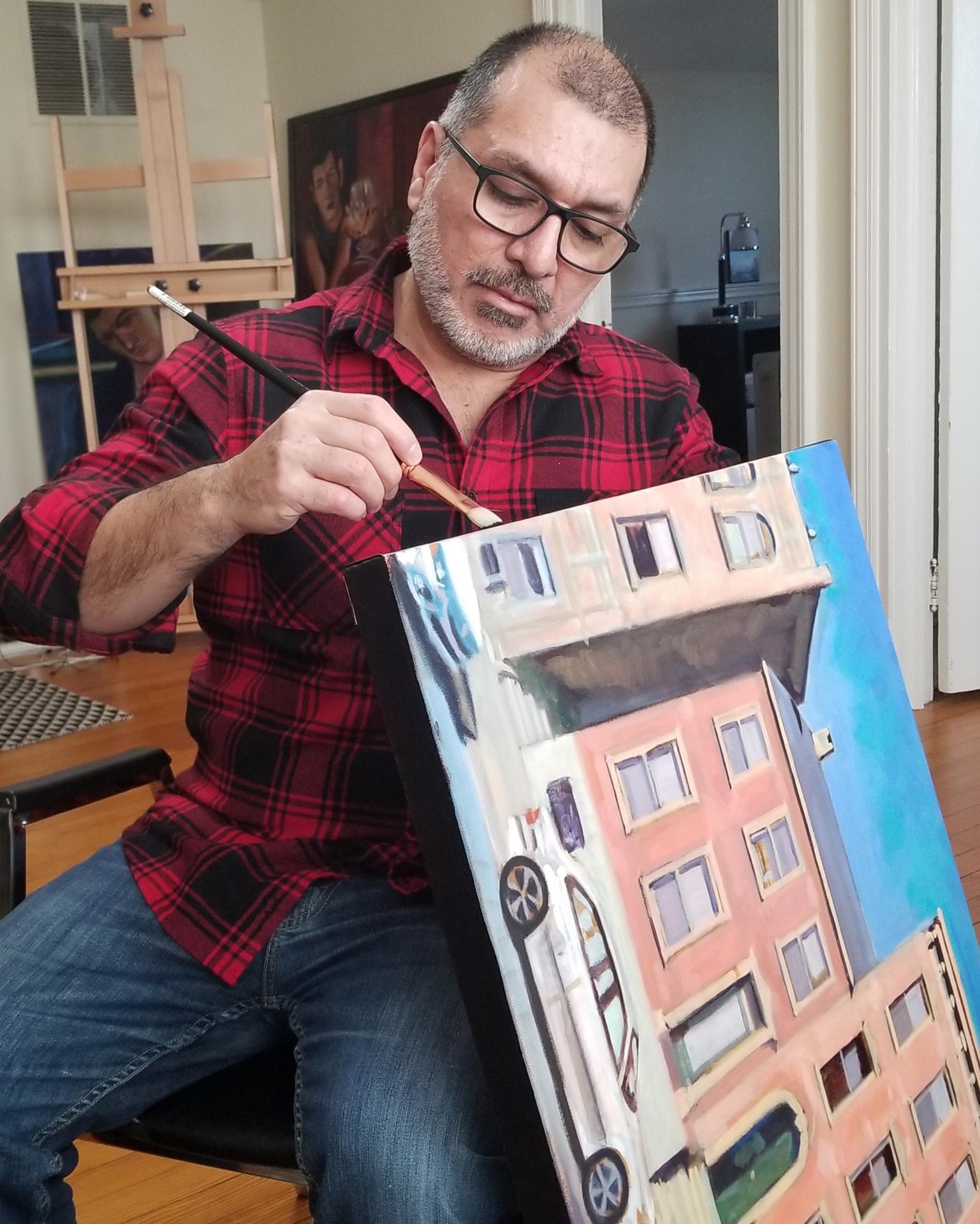 Frenchtown-based painter Francisco Silva
