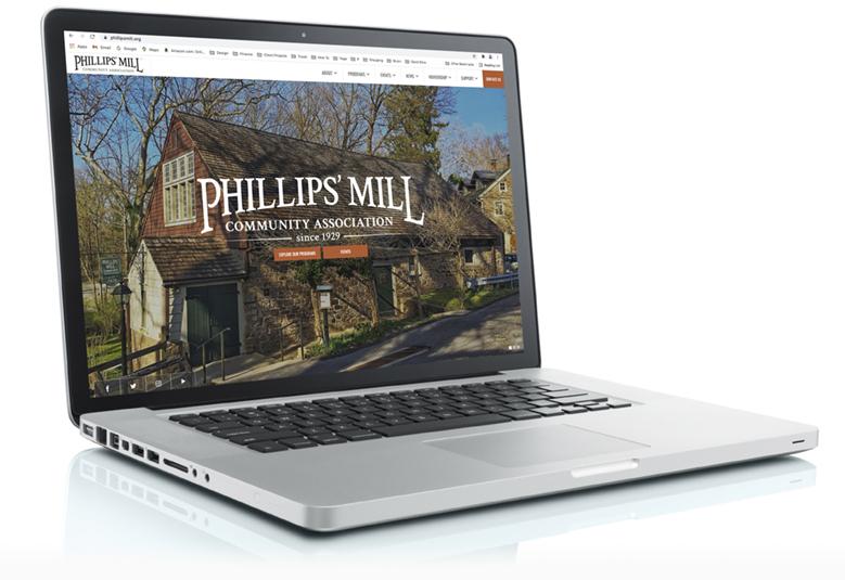 New Phillips' Mill Website