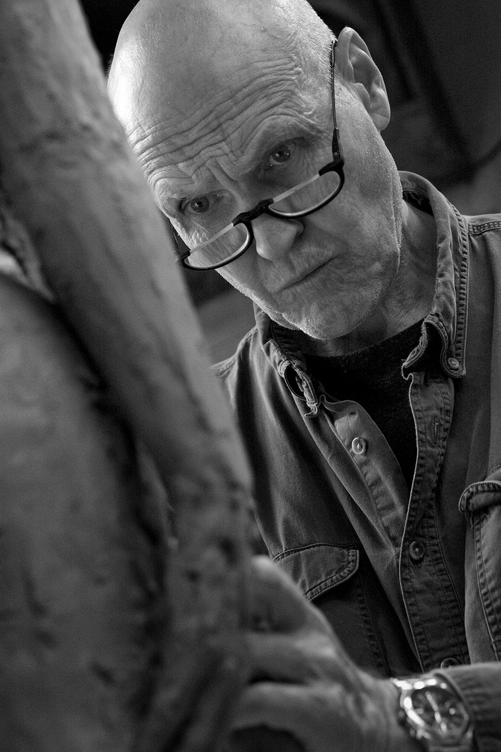 Solebury's George Anthonisen has been named the Honored Artist for the 92nd Phillips' Mill Juried Art Show, which will take place September 25 – October 31.  (Photo: Carla Klouda)
