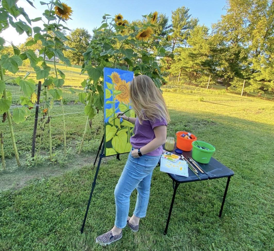Plein Air Painting - Amanda Penecale