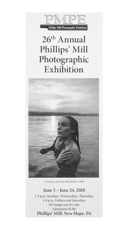 26th Annual Phillips' Mill Photo Exhibition Poster