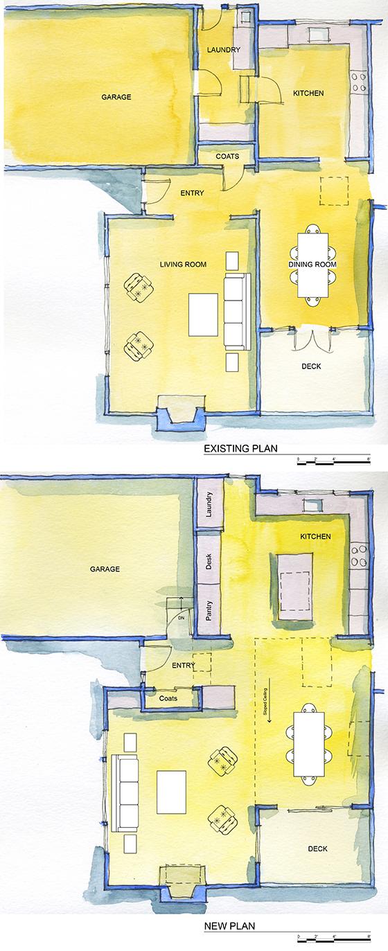 San Mateo Remodel Plans