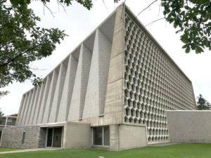 concrete architecture modern church