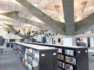 concrete architecture modern library