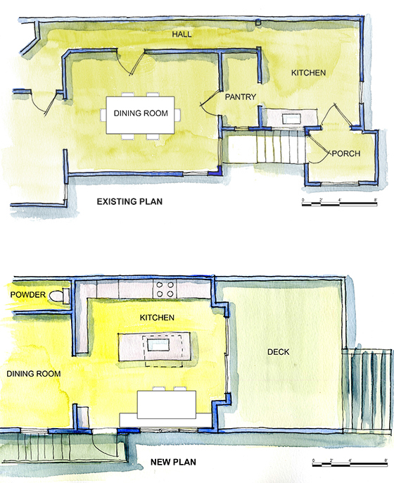 San Francisco architect modern kitchen