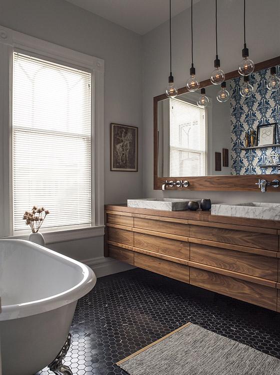 San Francisco architect modern vanity