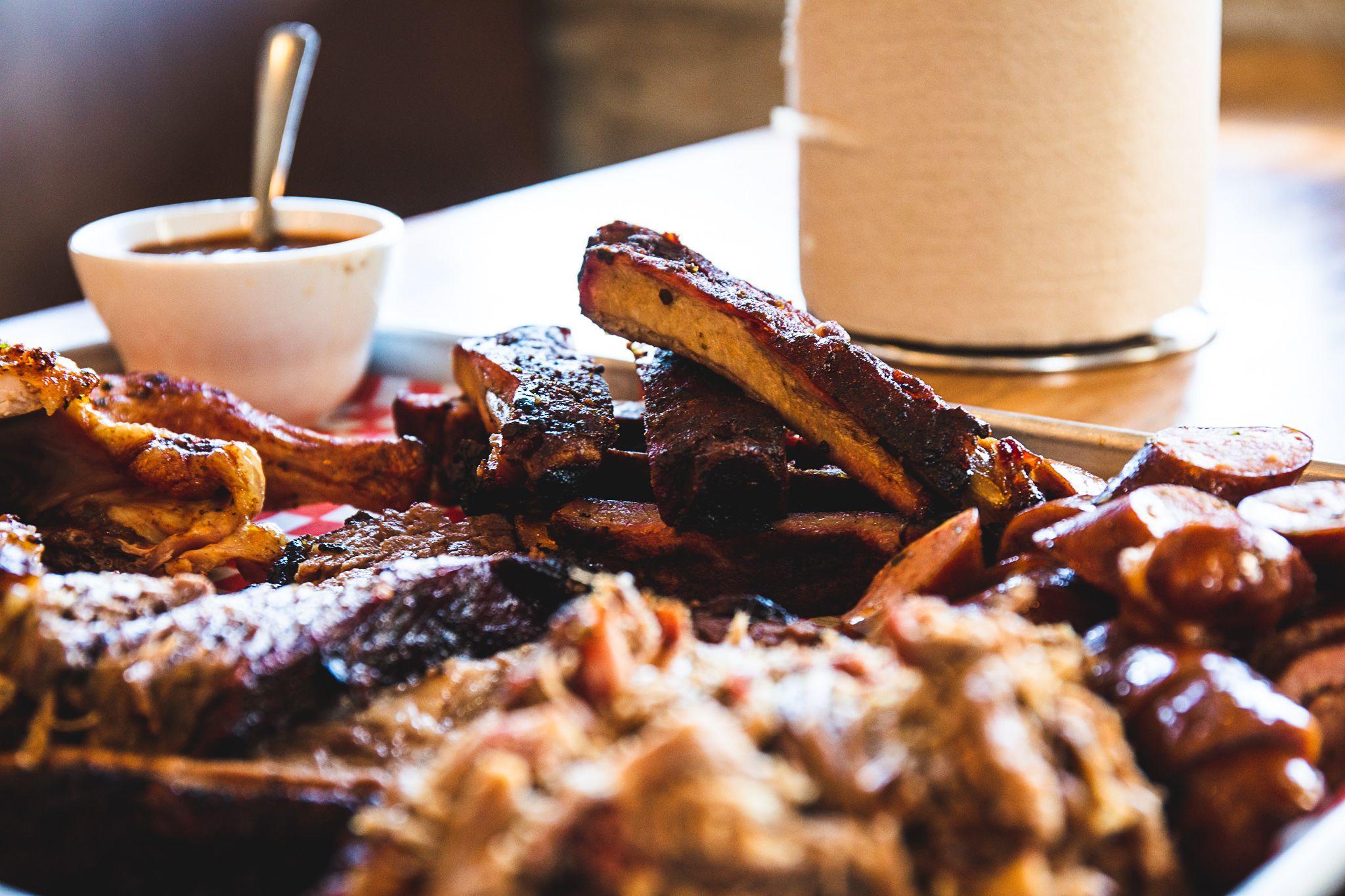 Truckin' BBQ Buffet Style Service Meals