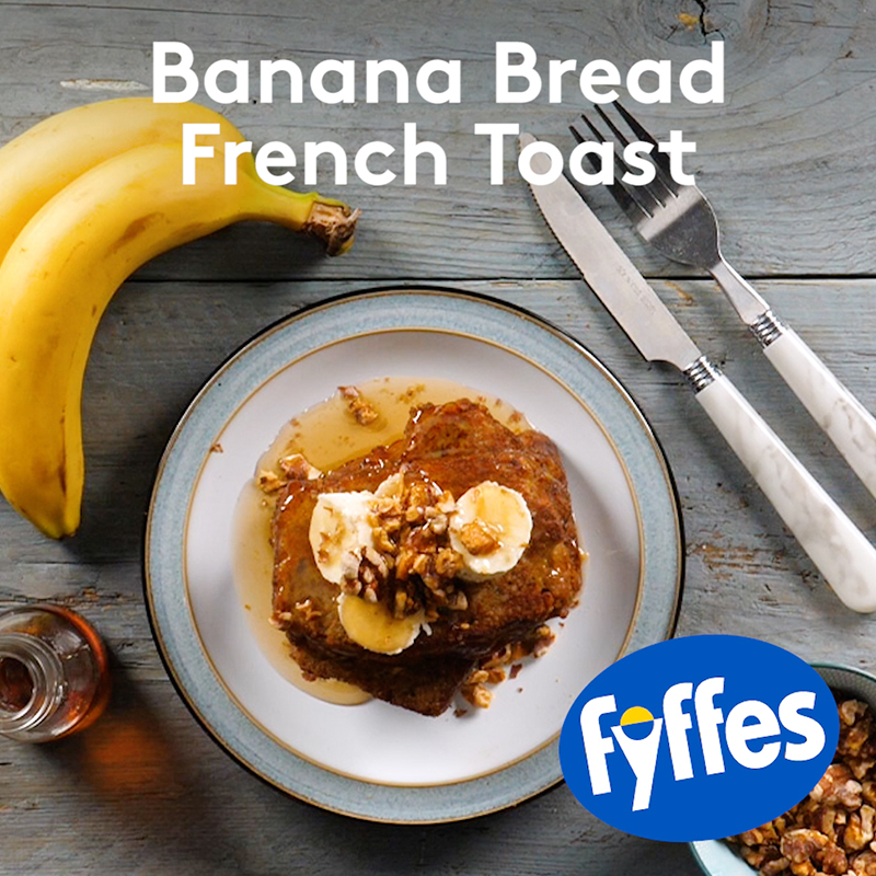 Fyffes Banana Bread French Toast Recipe