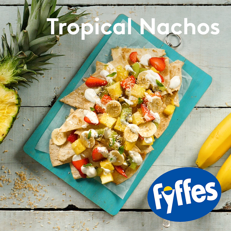 Fyffes Tropical Nachos Recipe