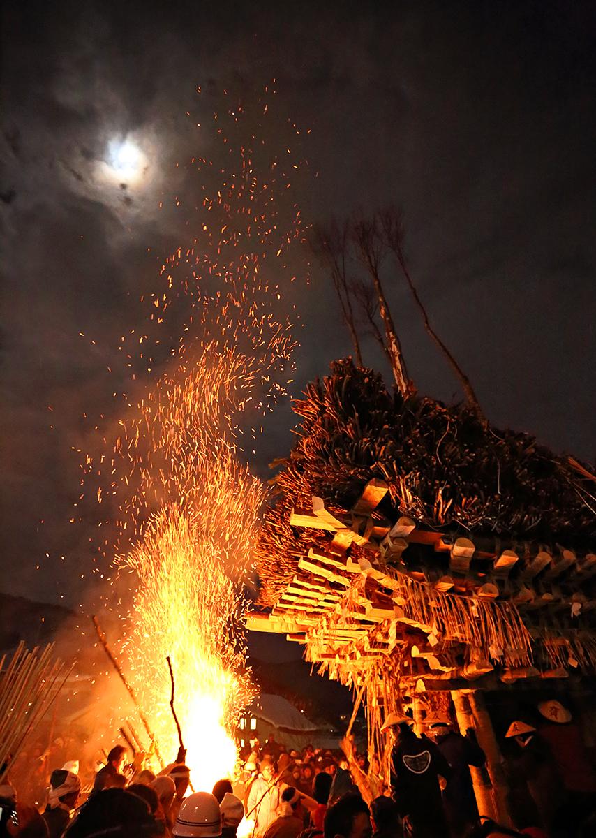 Fire Festival at Nozawa Onsen