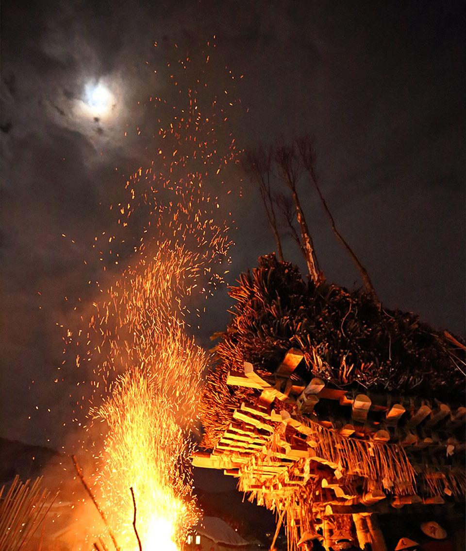 Nozawa Onsen's Fire Festival