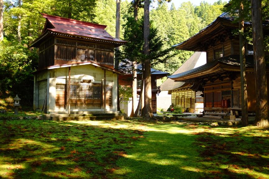 Temple at Nozawa Onsen