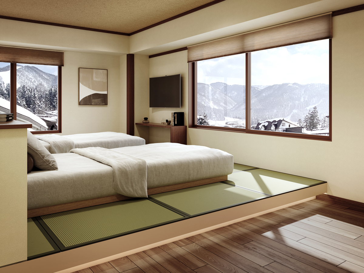 Japanese traditional but Modern apartment