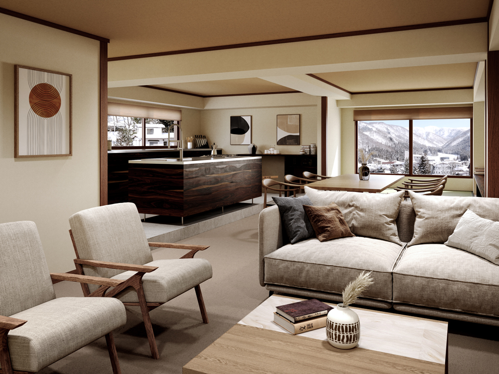 Luxury Apartment at Kawamotoya