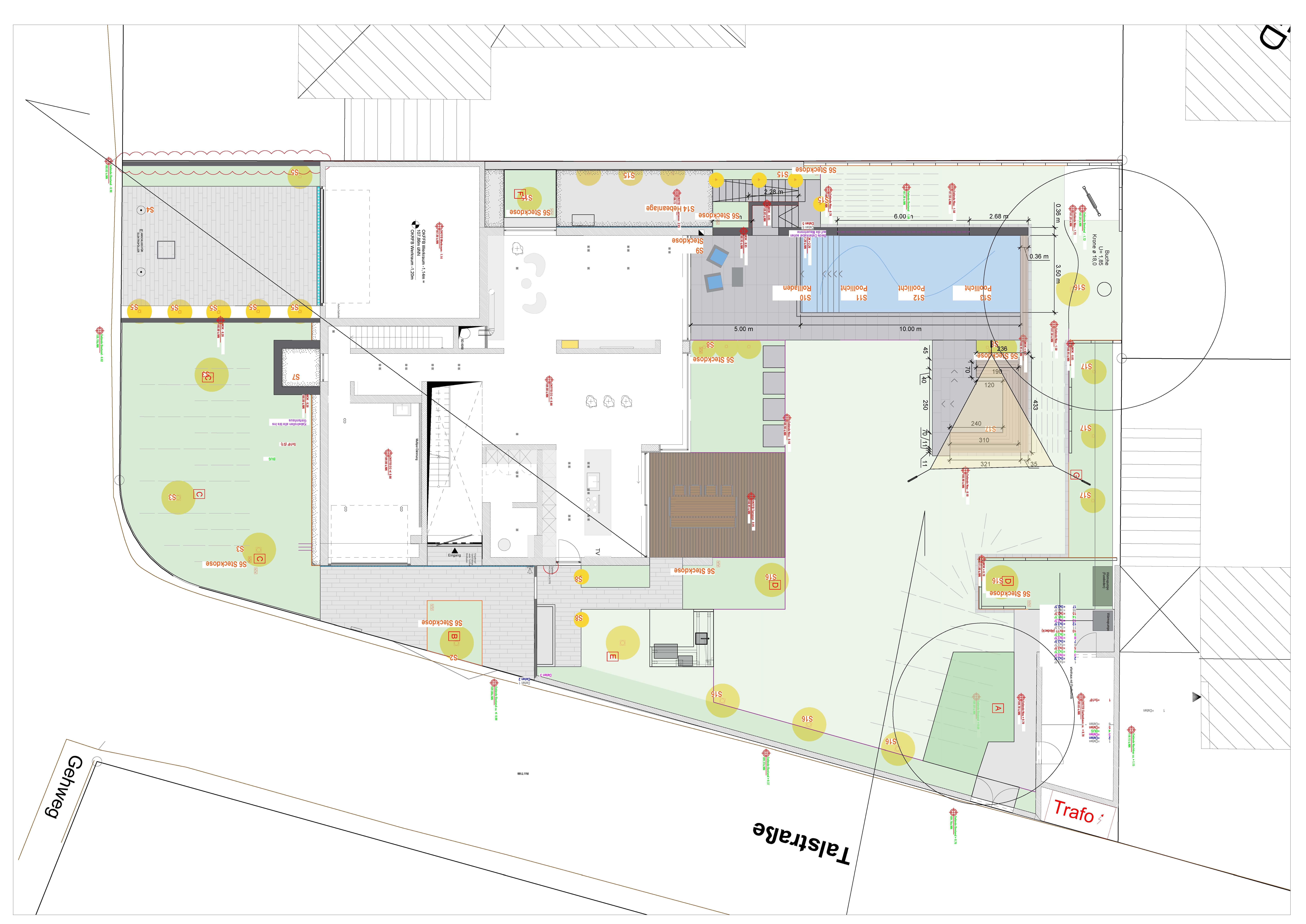 Rheingrün Planung